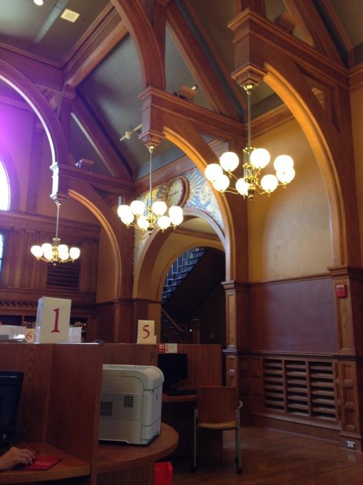 cambridge library inside