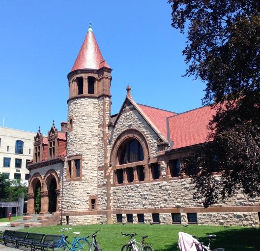 cambridge library outside